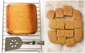 Mango Cake Process